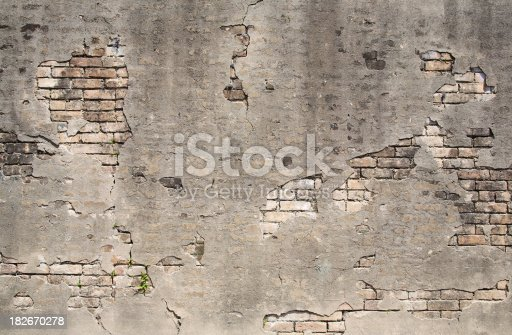 istock Old wall texture 182670278