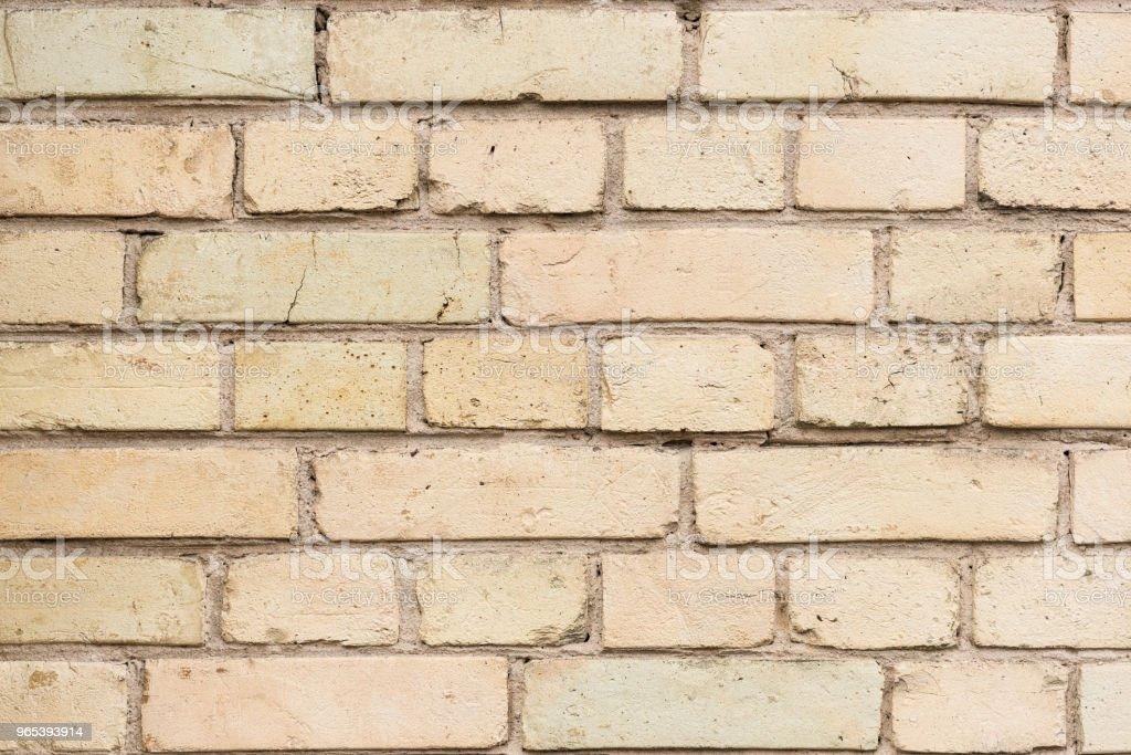 Vieux mur avec fond de briques cassées - Photo de Abstrait libre de droits