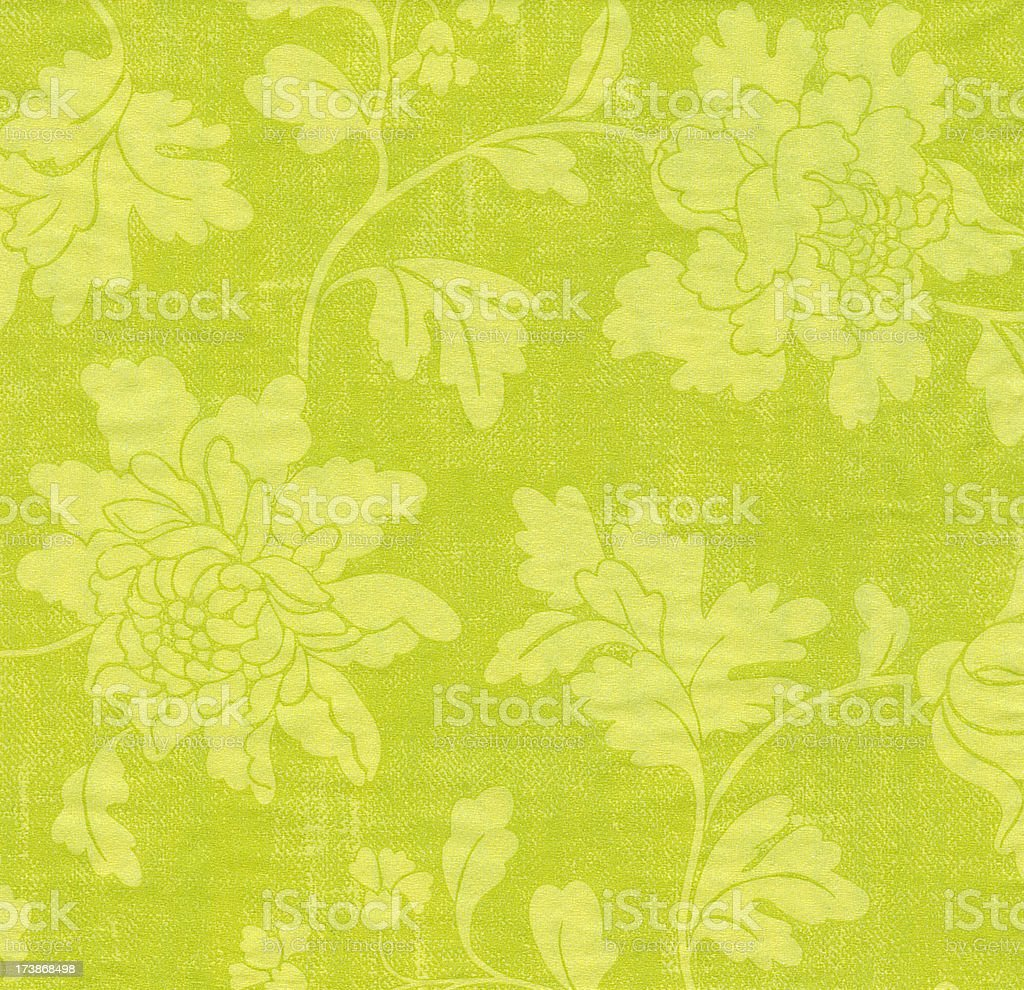 Old Wallpaper Background royalty-free stock photo