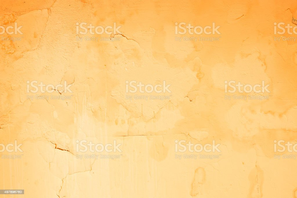 Old wallpaper on the cement background. stock photo