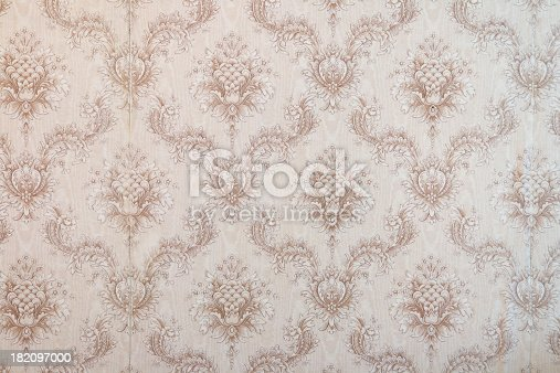 181053292istockphoto Old wallpaper 182097000