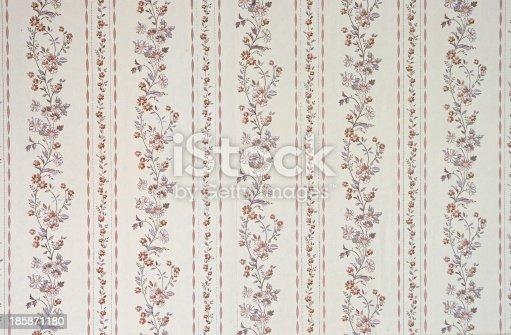 181053292istockphoto Old wallpaper 185871180