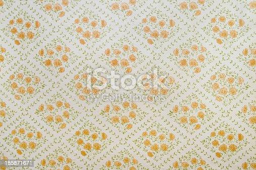 181053292istockphoto Old wallpaper 185871671
