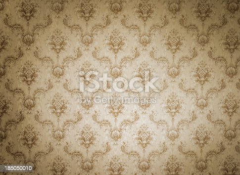 181053292istockphoto Old wallpaper with light and shadows 185050010