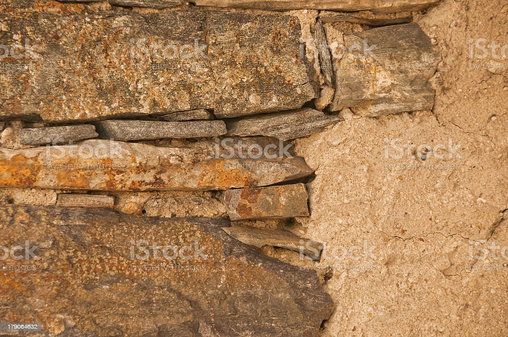 Old Wall-Texture royalty-free stock photo