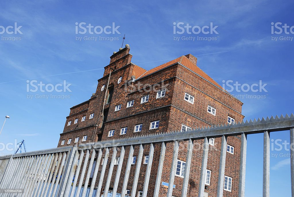 old warehouse royalty-free stock photo