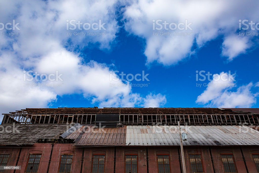 Old Warehouse stock photo