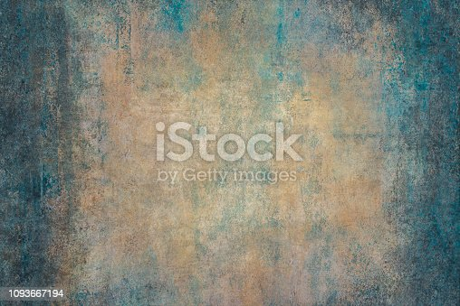 istock Old washed grunge mottled texture 1093667194