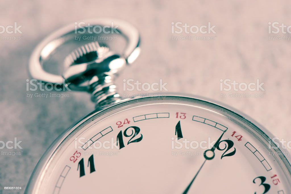 Old watch in close up foto de stock royalty-free