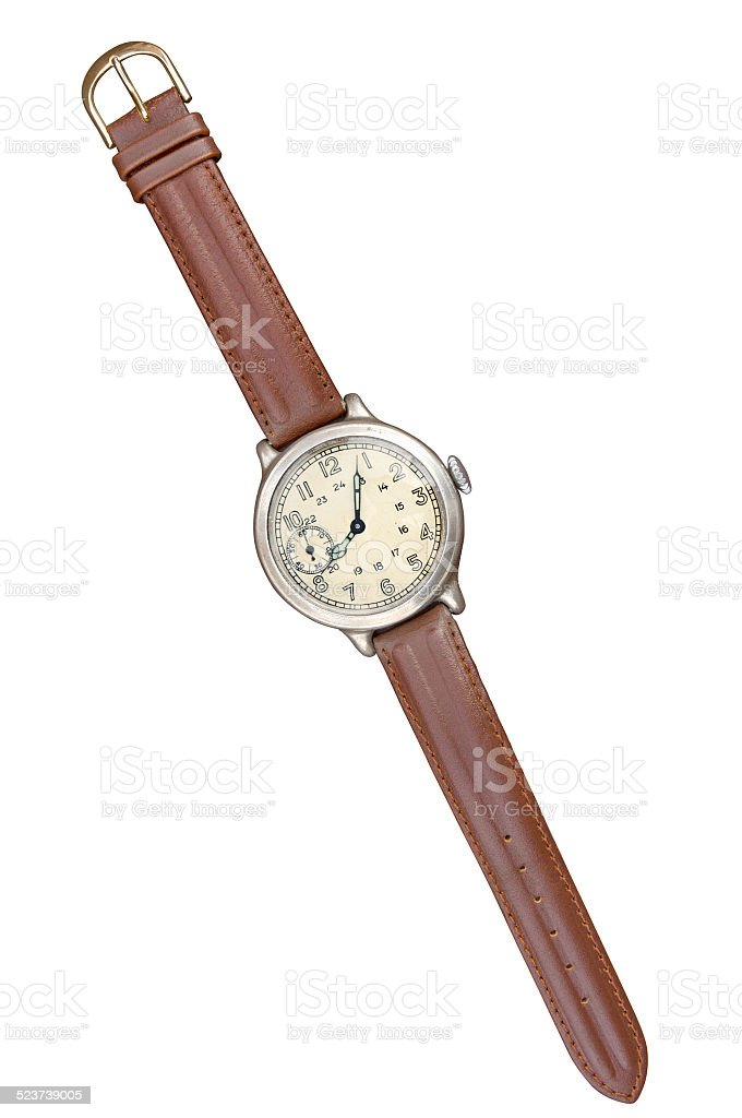 Old watch stock photo
