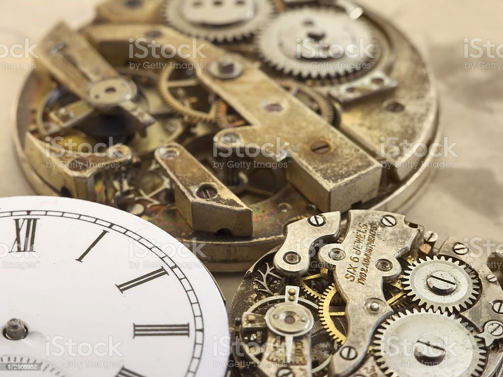Old Watches royalty-free stock photo