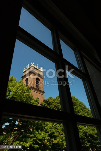 istock Old watchtower and bell tower, Guastalla, Italy 1311511128