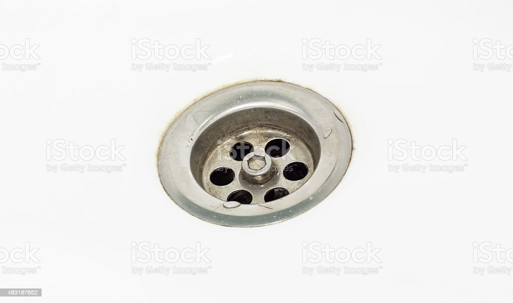 old Water drain stock photo