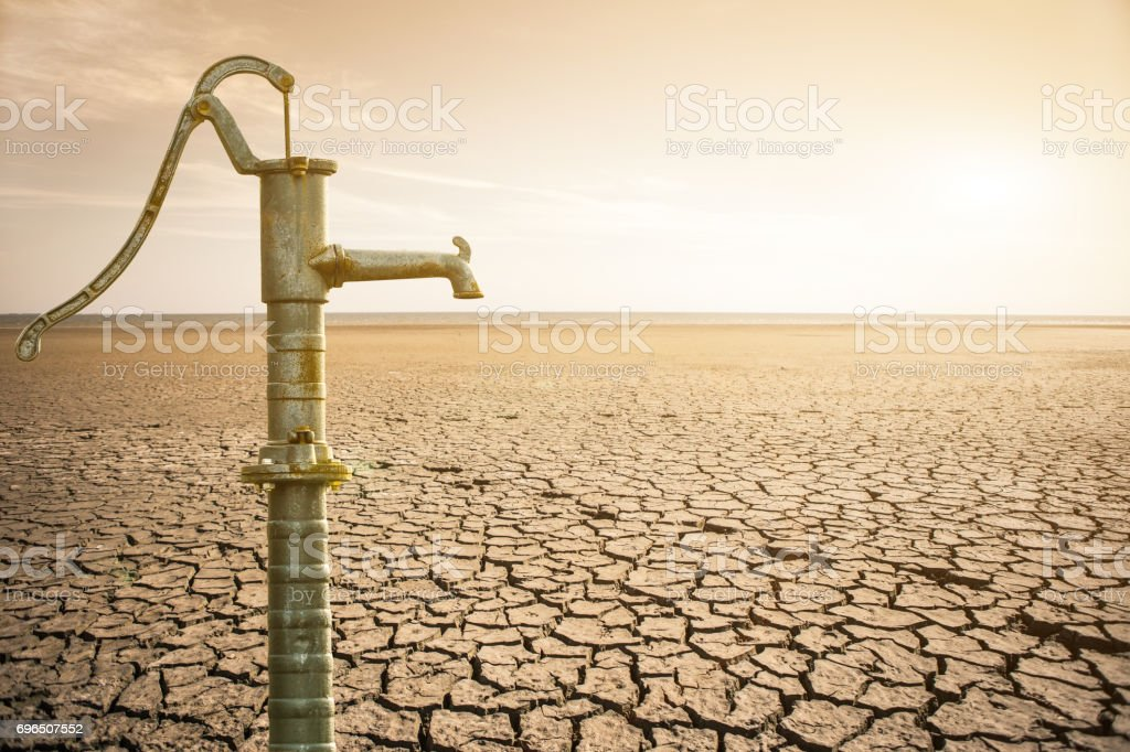 Old water pipe Lizenzfreies stock-foto