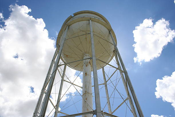 Old Water Tower stock photo