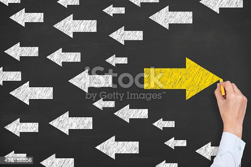 istock Old Way or New Way 493186856