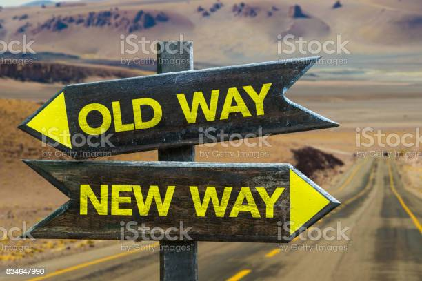 Old way x new way crossroad picture id834647990?b=1&k=6&m=834647990&s=612x612&h=ydikyvgafv1 lcbmos r7r2aifhhfnlrgpbs2bbsrig=
