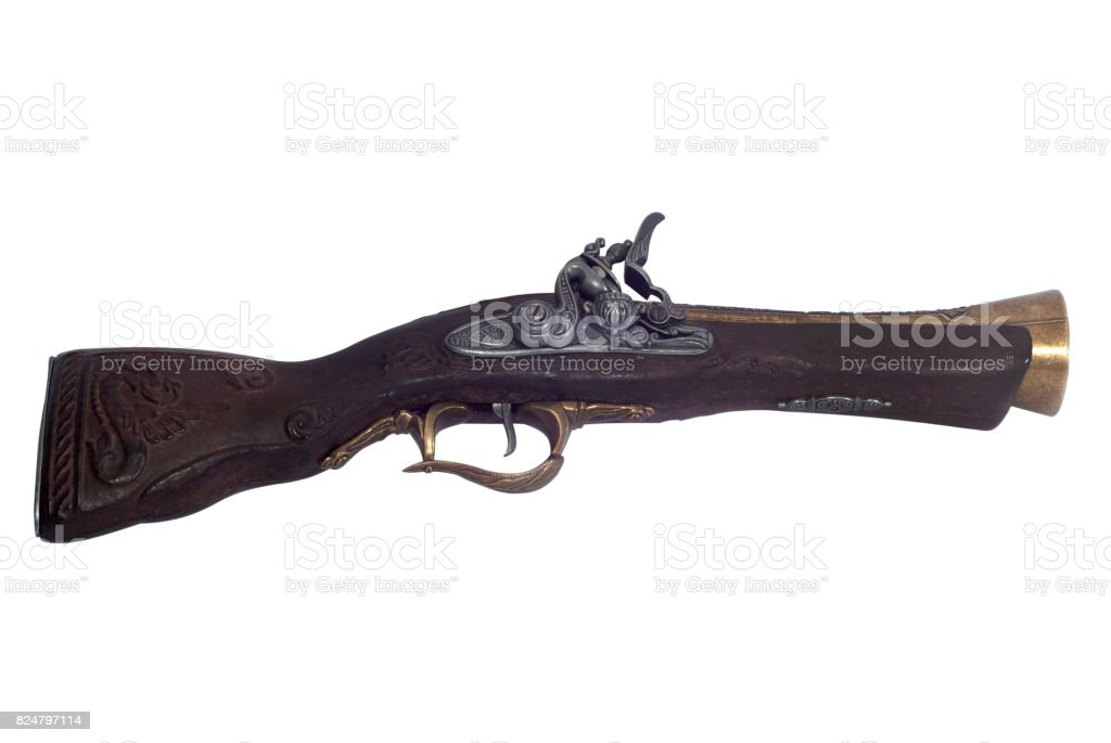 Old weapon stock photo