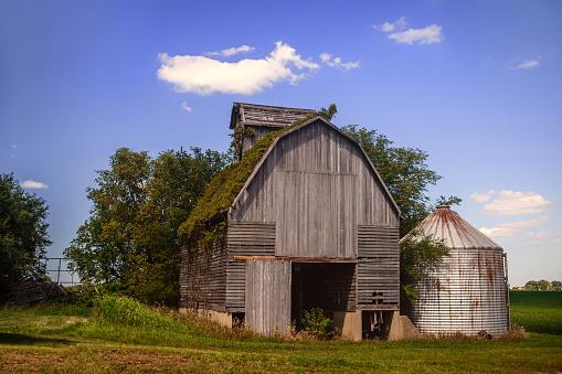 Old Weathered Barn