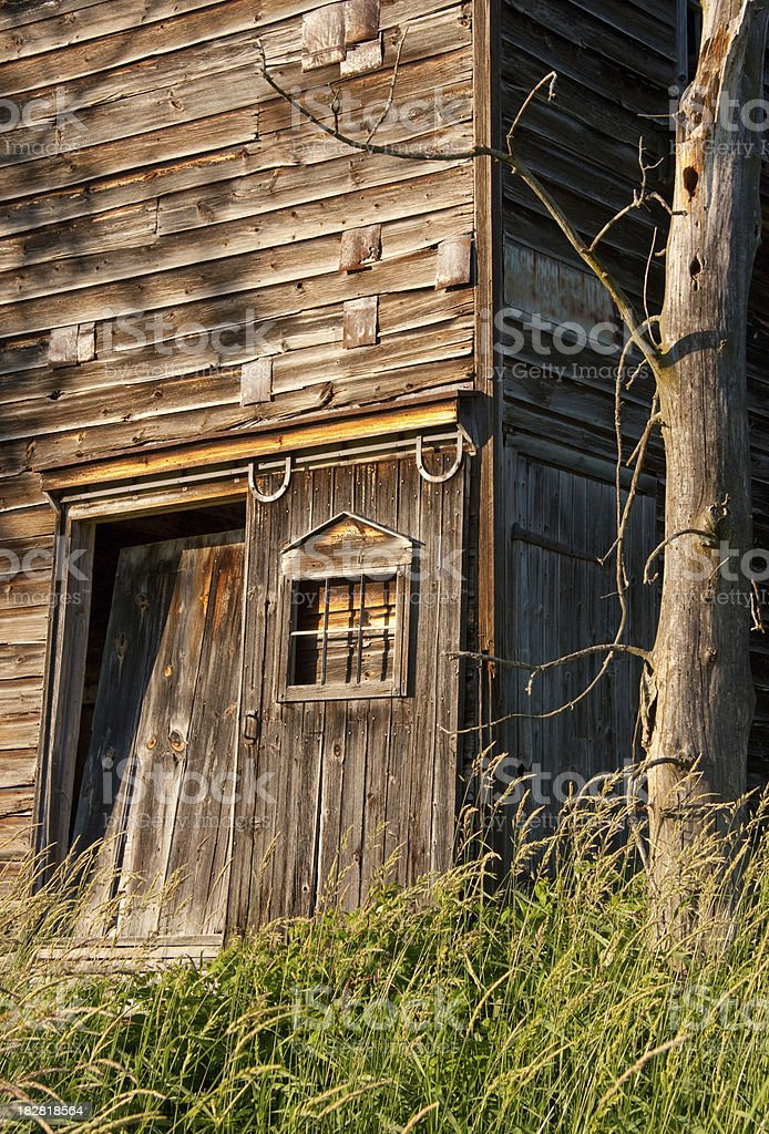 Old Weathered Barn royalty-free stock photo