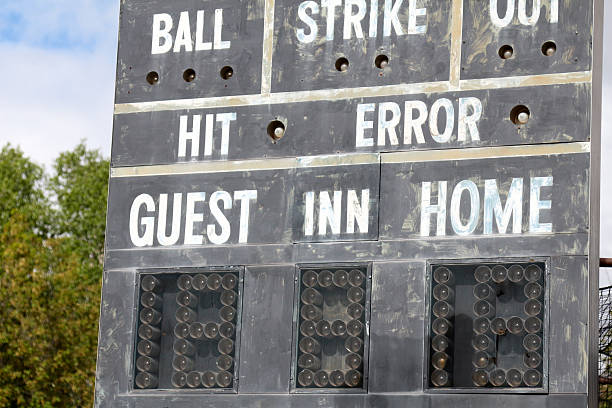 22 Vintage Baseball Scoreboard Stock Photos Pictures Royalty Free Images Istock