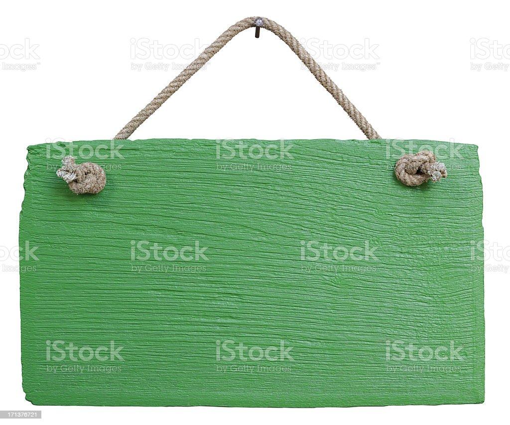 Antiga placa de madeira envelhecida Verde. - foto de acervo