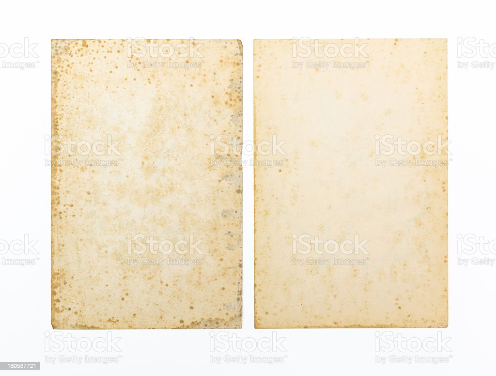 Old weathered paper as background royalty-free stock photo