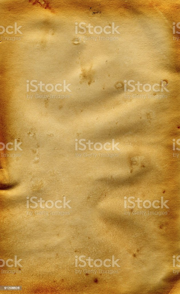 Old Weathered Paper, XL size stock photo