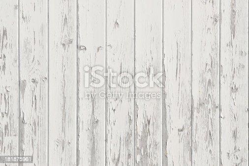 weathered wood wall panels old weathered wood panels with peeling white paint stock photo