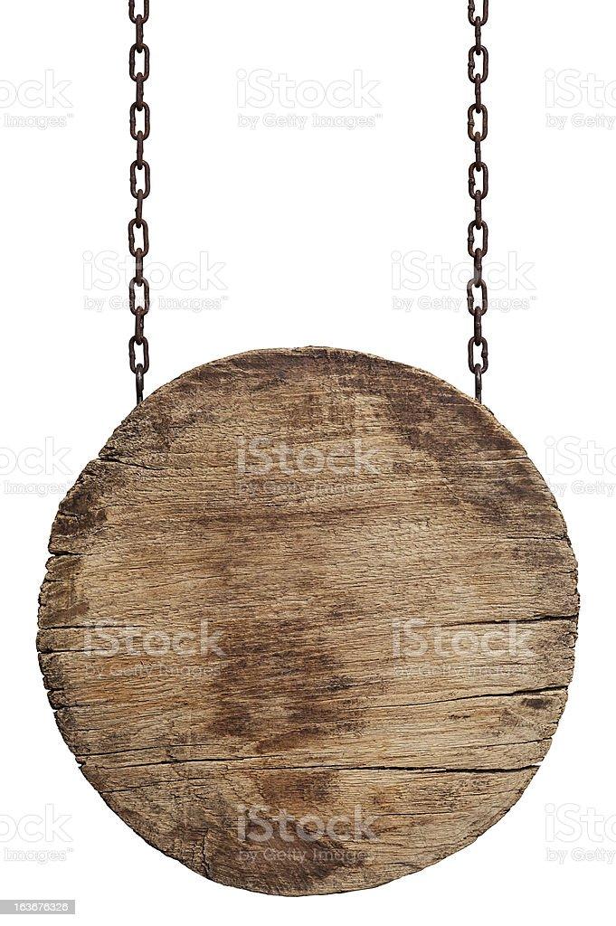 Panneau en bois vieux usé. - Photo