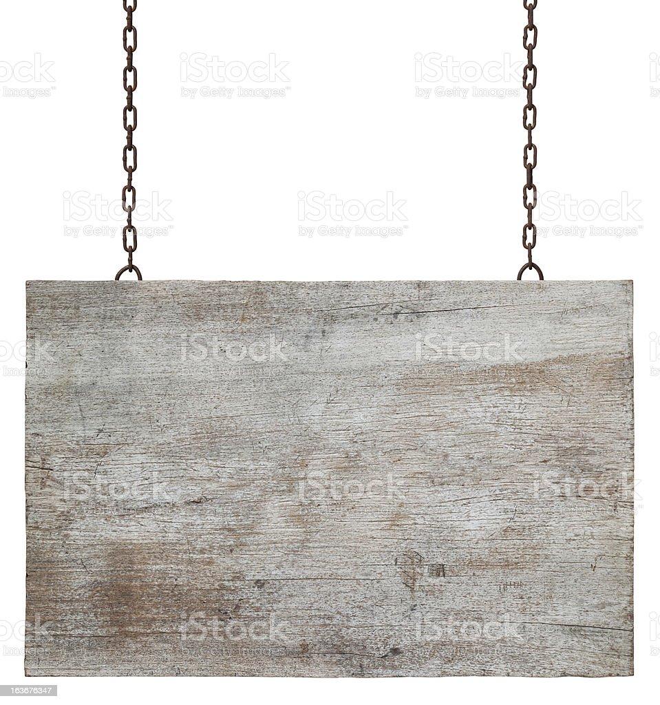 Antiga placa de madeira envelhecida. - foto de acervo