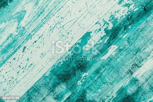 istock Old weathered wood texture 694676766