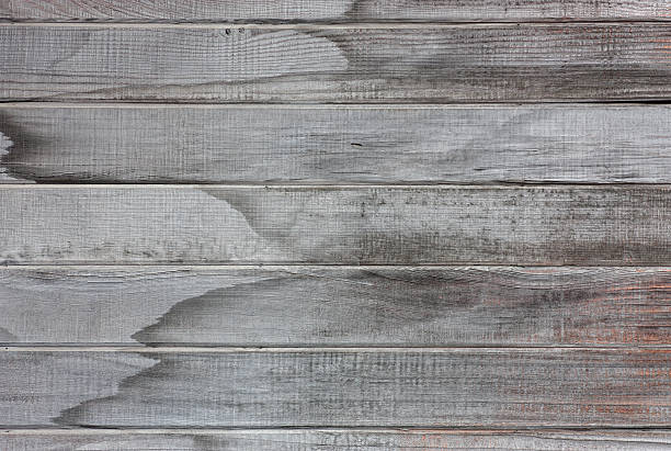 Old Weathered Wood Wall stock photo
