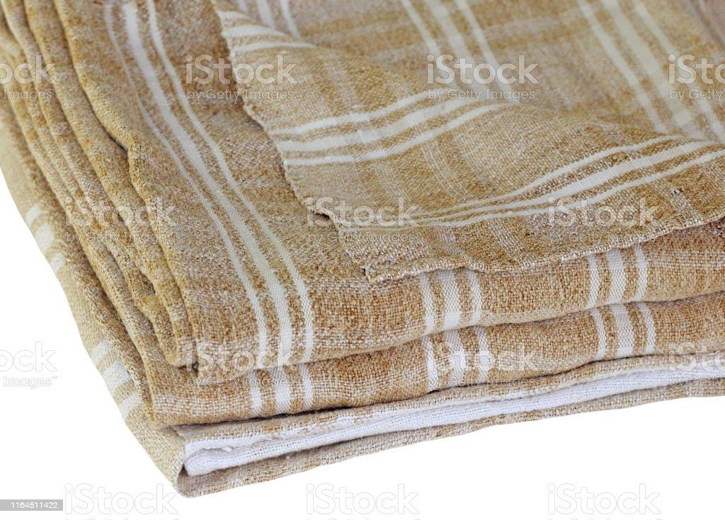 Old Weave hemp bedding set. Used hundred years ago