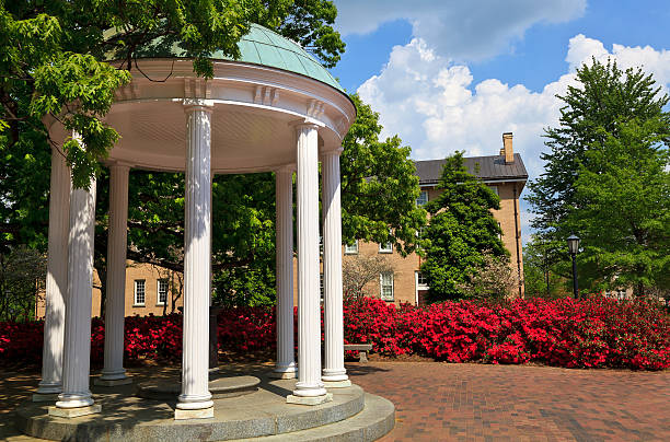 Old Well at Chapel Hill in the Spring