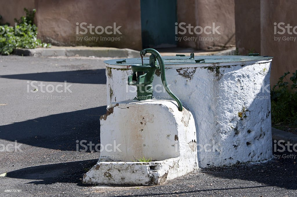 Old well stock photo