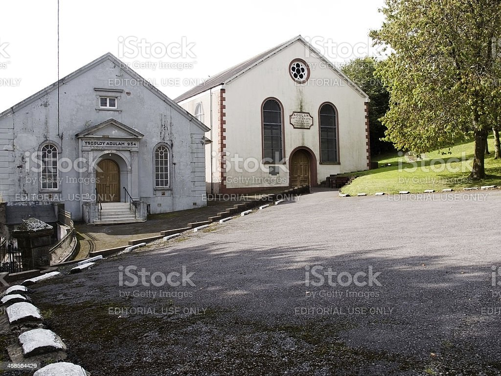 Old Welsh XVIe siècle Baptist Chapelle - Photo