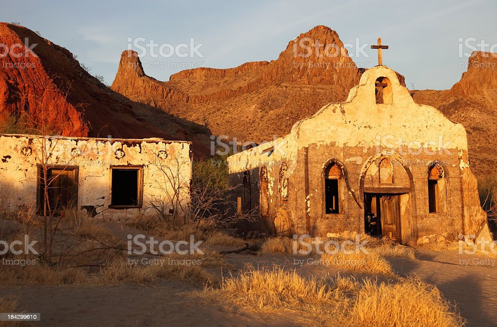 Old West stock photo