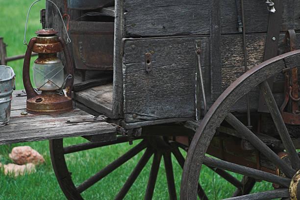 Alte Western Chuck wagon – Foto