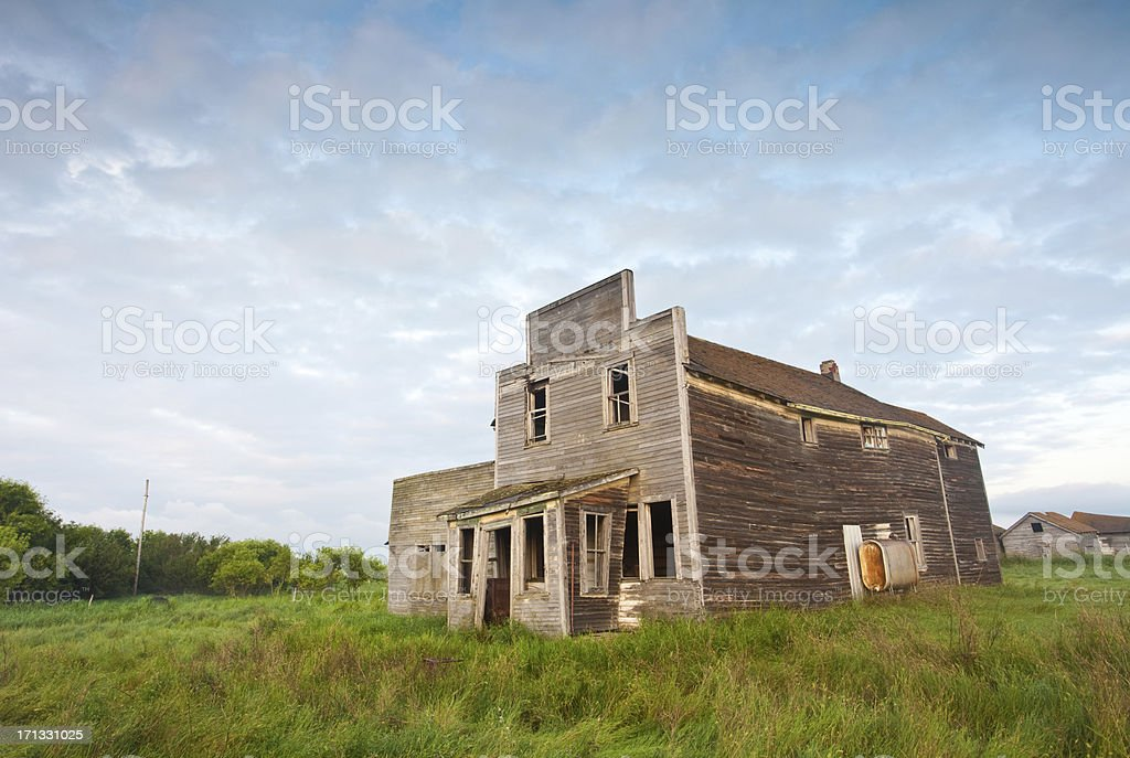 Old Western General Store stock photo