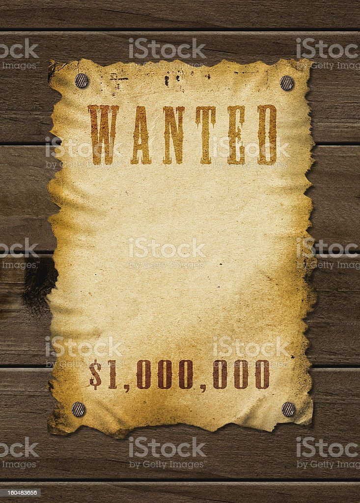 Old western sign. royalty-free stock photo