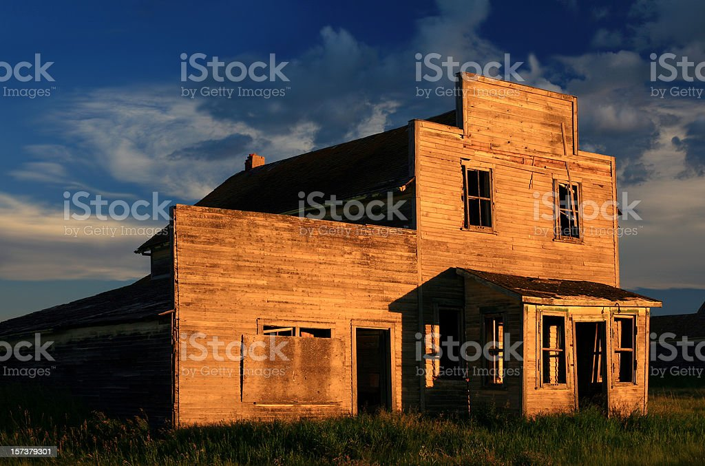 Old Western Storefront royalty-free stock photo