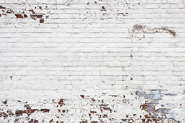 늙음 인명별 벽돌전 벽 배경기술 - 흰색 벽돌 담 뉴스 사진 이미지