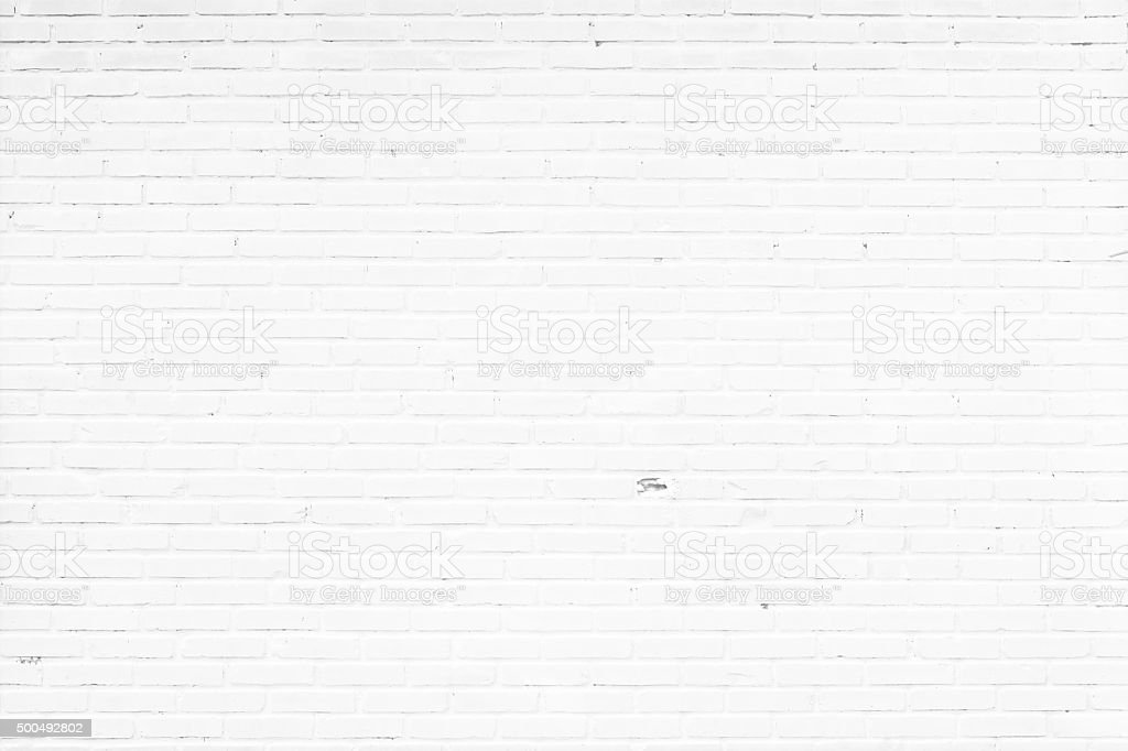 old white brick wall texture for background​​​ foto