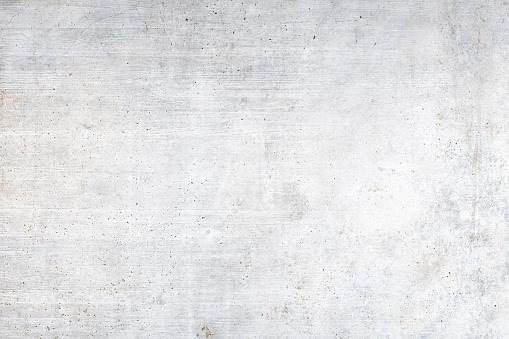 Old white concrete wall