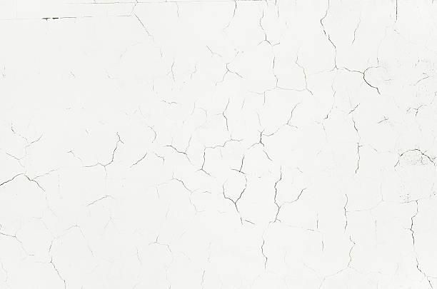 stary biały crack grunge tekstury ściany, betonowe tło cementu - popękany zdjęcia i obrazy z banku zdjęć