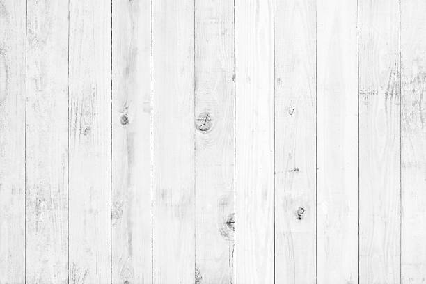 old white painted wood for background - fence stock photos and pictures