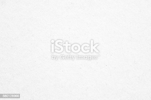 istock Old white paper texture background 580128966