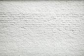 古いホワイトの壁の背景