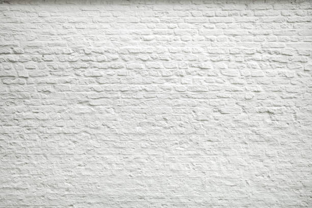 old white wall background - wall foto e immagini stock